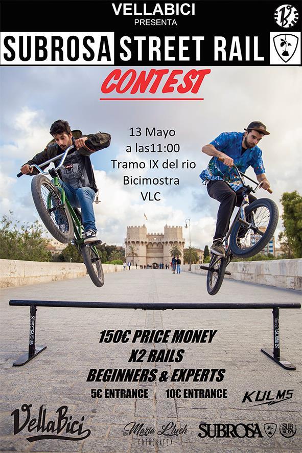 BMX rail-jam : Bicifest Valencia, 13 de mayo de 2017
