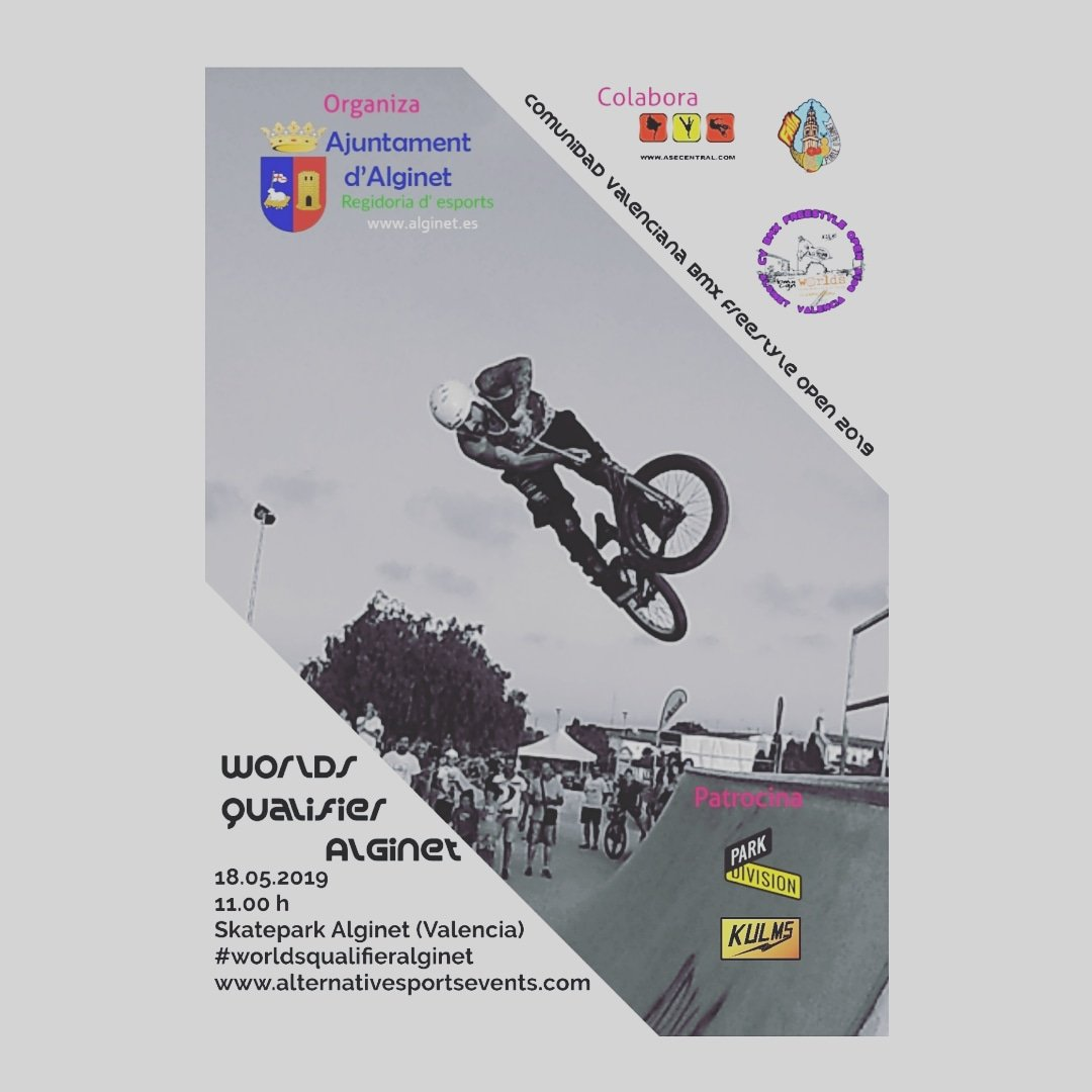 Comunidad Valenciana BMX Freestyle Open 2019 - Worlds Qualifier Alginet