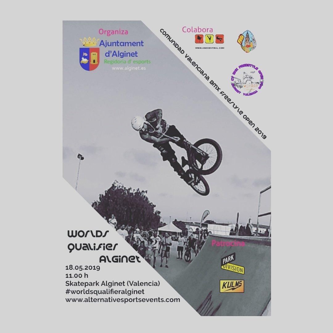 Comunidad Valenciana BMX Freestyle Open 2019 - Worlds Qualifier Alginet